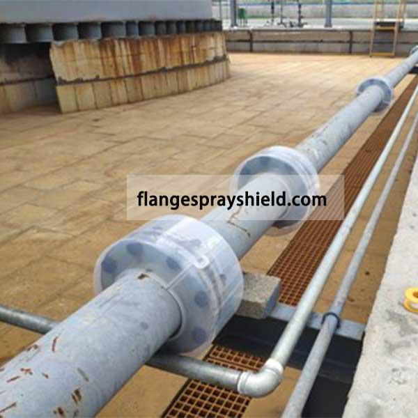 flange safety guard