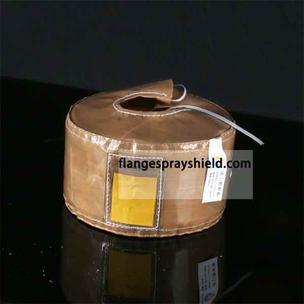 PTFE teflon flange safety shield