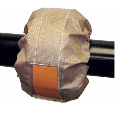 PTFE teflon flange spray shield